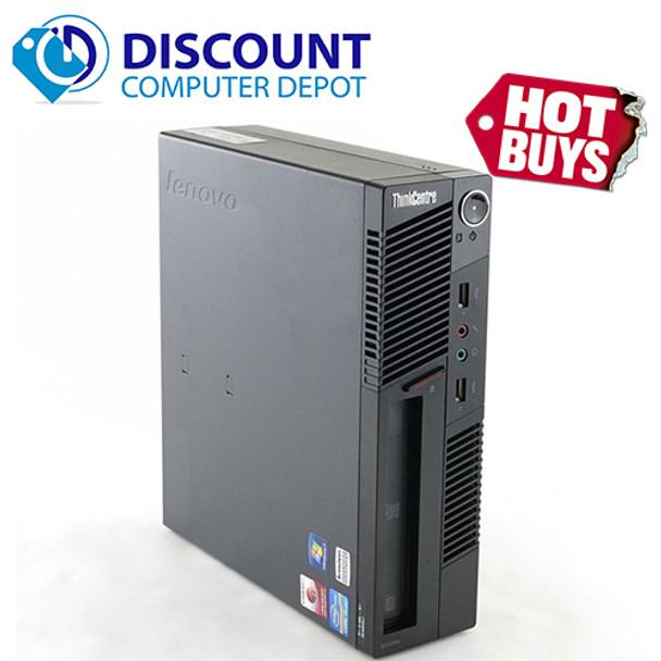 Lenovo M91P Small Desktop Computer Intel i5 PC 2.5GHz 4GB 500GB Windows 10 Pro