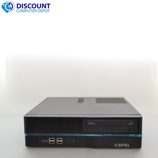 Fast Detel Desktop Computer Intel Core i3 3.1GHz Windows 10