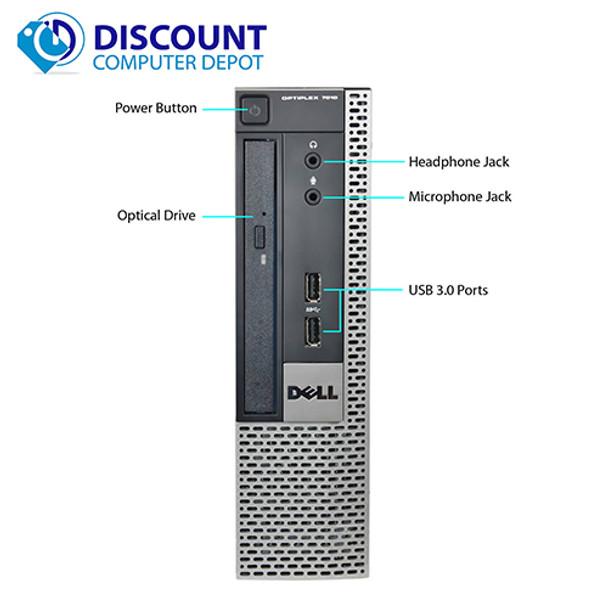 Dell Optiplex 7010 Small Thin Core i5 Desktop Computer PC 2.9GHz Windows 10 Pro