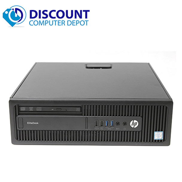 HP EliteDesk 800 G2 Desktop Computer Core i5-6600 8GB 256GB SSD Windows 10 Pro