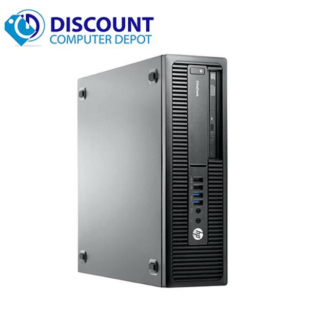HP EliteDesk 800 G1 Desktop Computer Core i3-4130 8GB 256GB SSD Windows 10 Pro