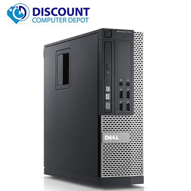 "Dell Optiplex Desktop Computer Core i5 8GB 160GB SSD Windows 10 Pro w/19"" LCD"