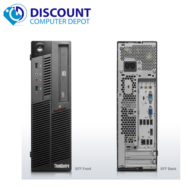 Fast Lenovo M82 Windows 10  Desktop Computer Intel Core i3 PC 3.1GHz 4GB 250GB