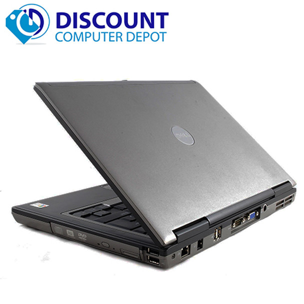 Fast Dell Latitude D Series Laptop Notebook PC Dual Core 4GB Wifi Windows 10