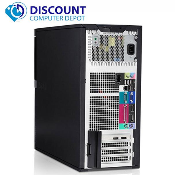 Dell 960 Desktop Computer Tower C2d 3 0 8gb 500gb 19 Quot Lcd