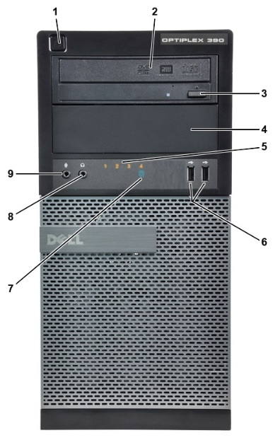 Dell Optiplex Windows 10 Desktop Computer Tower Quad Core