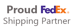 Proud FedEx Shipping Partner