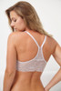 ALL LACE GLAMOUR HALTER BRA CLOUD