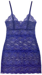ALL LACE CLASSIC FULL SLIP COBALT