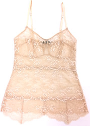 ALL LACE CLASSIC PYRAMID CAMI NUDE