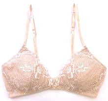 ALL LACE CLASSIC BRALETTE W/ REMOVABLE FOAM CUPS NUDE