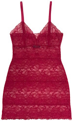 ALL LACE GLAMOUR FULL SLIP SCARLET