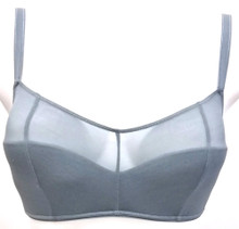 JET SET LIGHTLY LINED BANDEAU BRALETTE ICEBERG