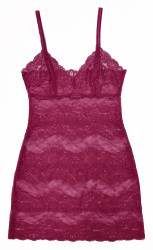 ALL LACE BOUDOIR FULL SLIP CASSIS