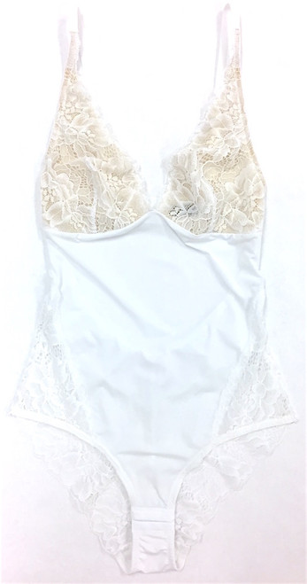MY DAILY BODYSUIT - NEW LACE & NEW STYLE WHITE