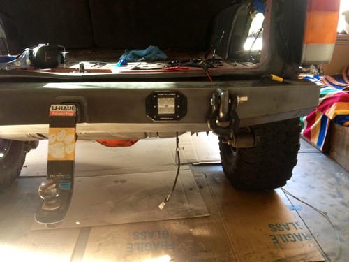 Tracker Flush Mount LED Light Pod