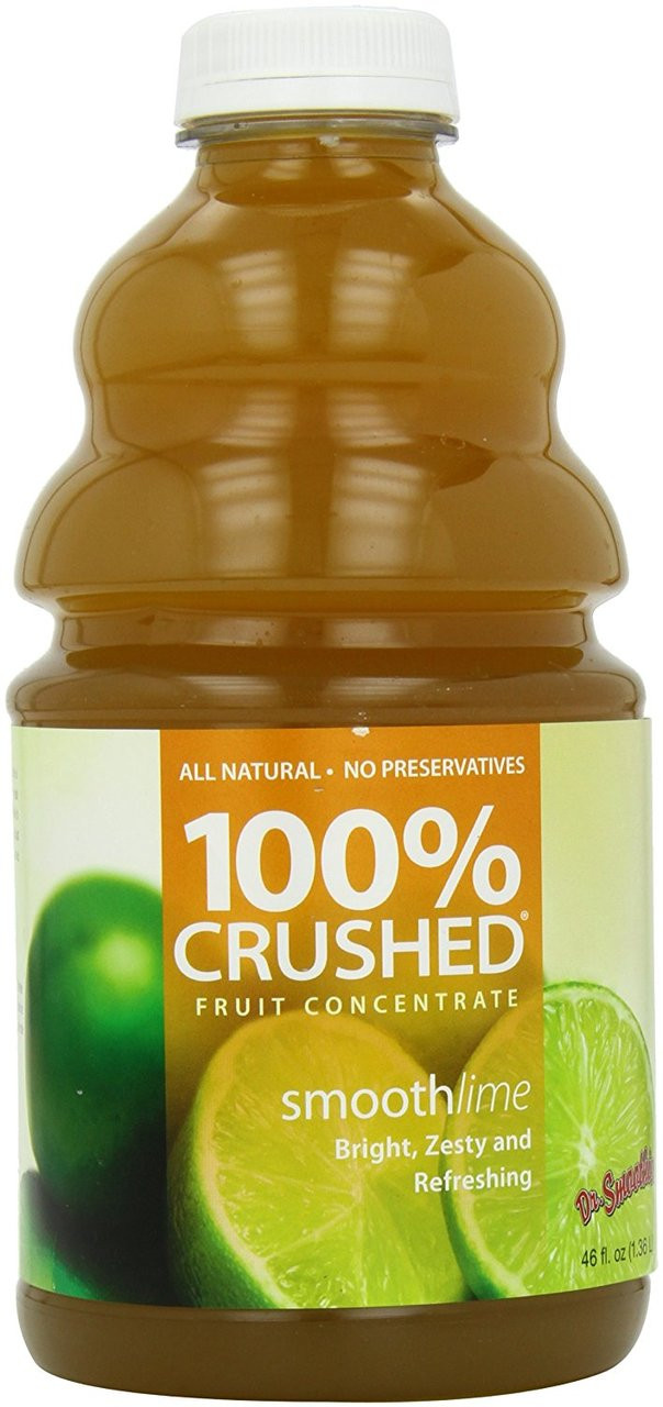 Dr. Smoothie 100% Crushed Fruit Smoothie Concentrate: Smooth Lime