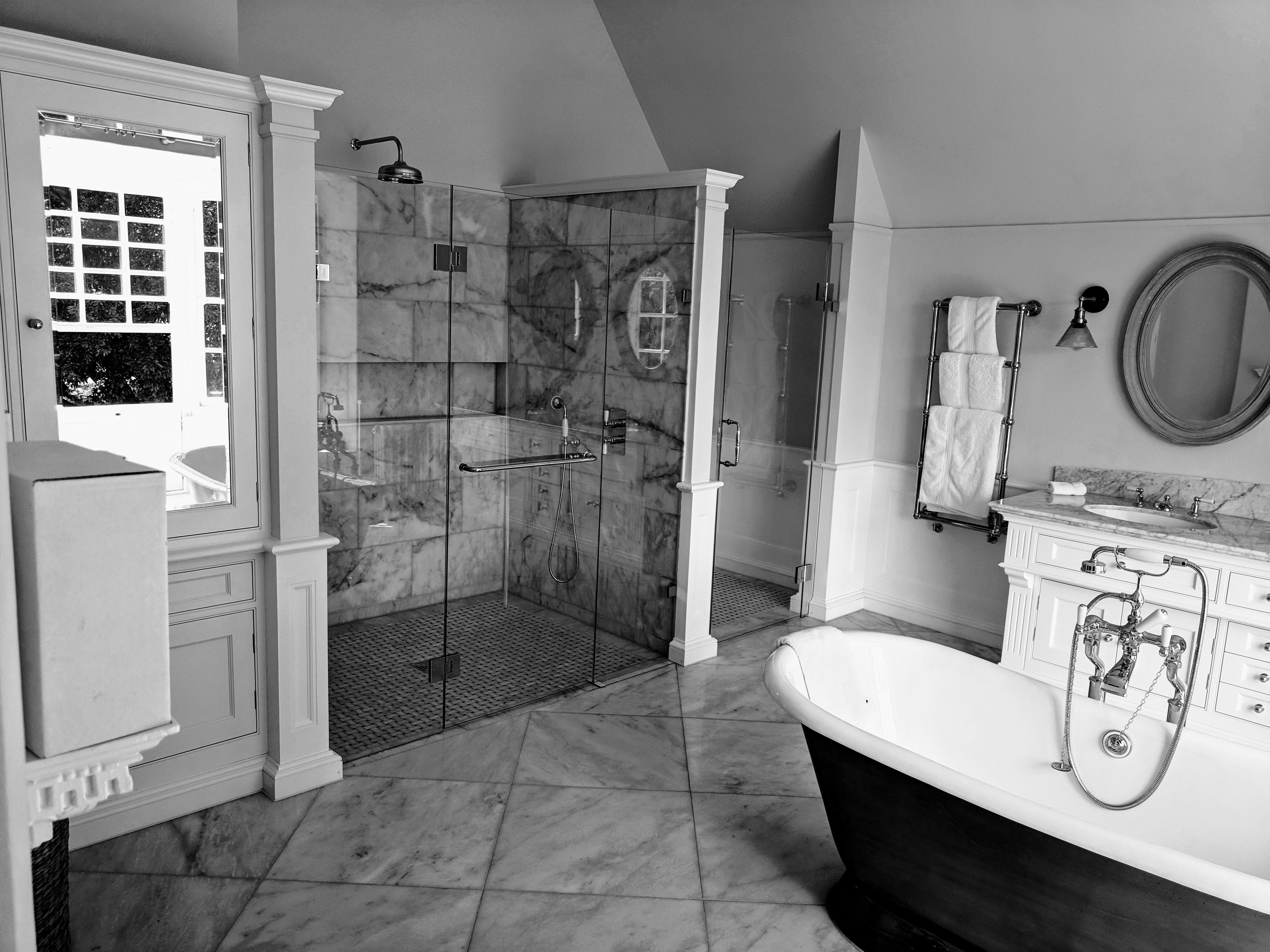 Bespoke Shower glass panels