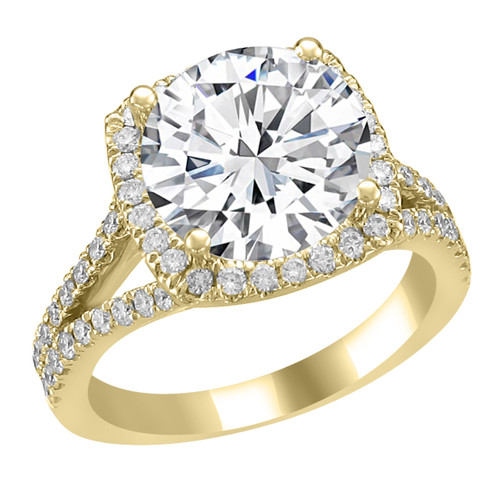 engagement carat jewellery ireland gold rings trilogy ring diamond yellow