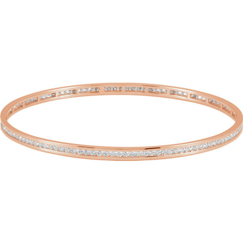 gold diamond baguette white eternity half bangle bangles ring