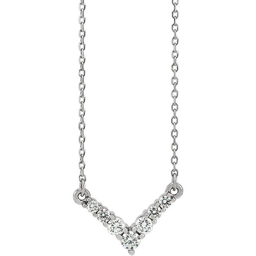 charles jewelers of graduated necklace riviera products cj diamond