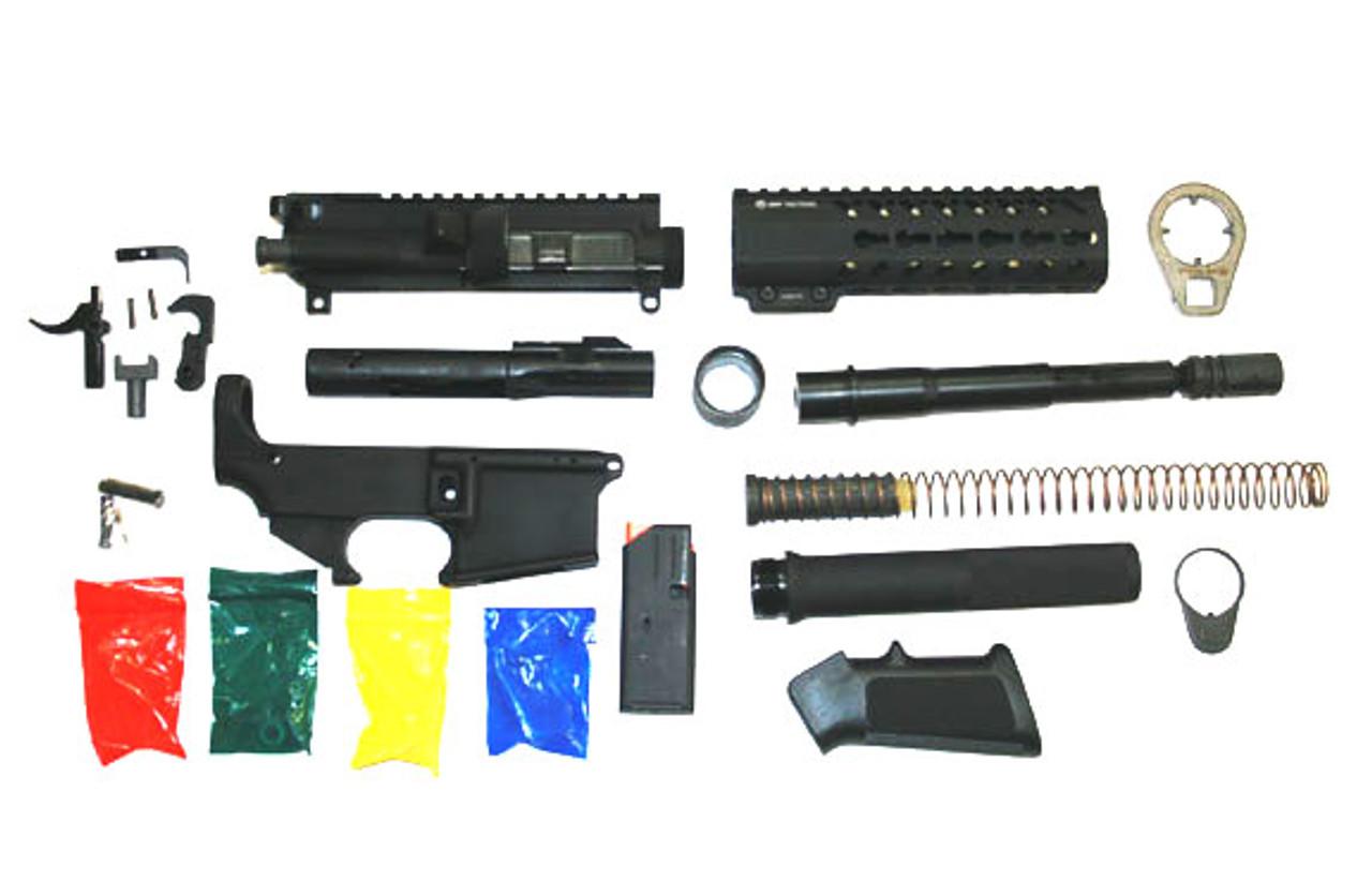 9mm gun in a box pistol kit barrel