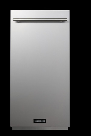 K012 Front on with stainless steel door