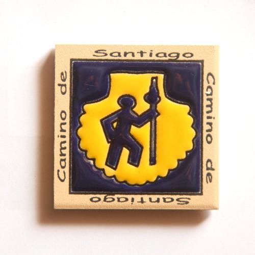 Camino De Santiago Pilgrim Scallop Shell And St James