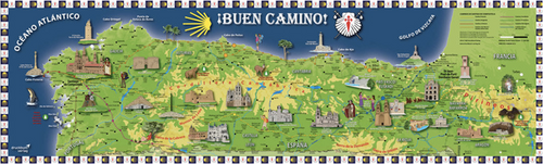 Camino de Santiago Maps and Guides