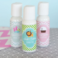 Personalized Kids Birthday Party Favors - Hand Lotion Favor - 24 ct