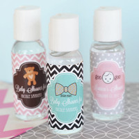 Hand Sanitizer Personalized Baby Shower Party Favors - 24 ct