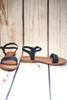 Margaret Braided Black Sandals