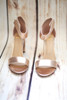 Alice Rose Gold Chunky Platform Heel with Ankle Strap