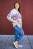 Totally Tie-Dye Loose Fit Hoodie Side View