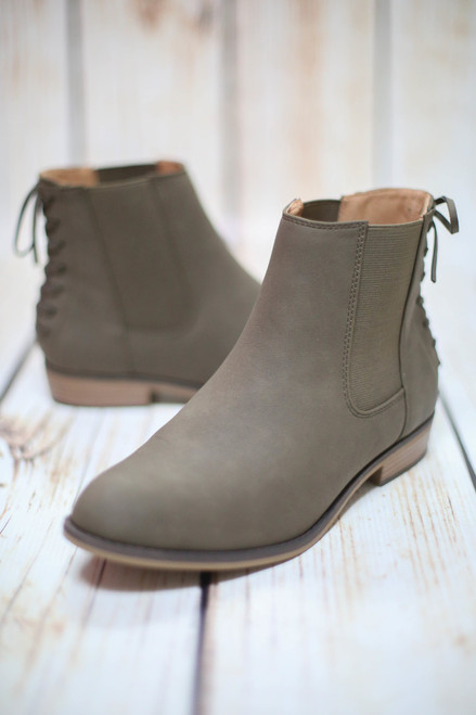 Trixie Olive Bootie