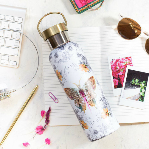 Papaya Paisley Wander Bottle