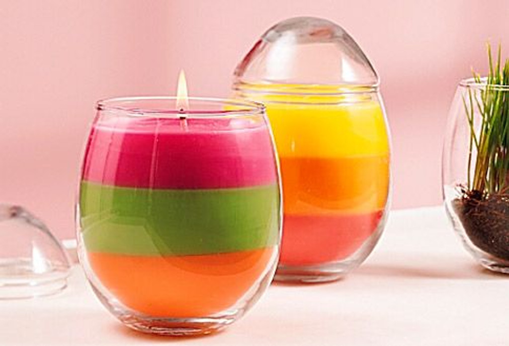 ​Making Layered Candles With Candle Dye Chips