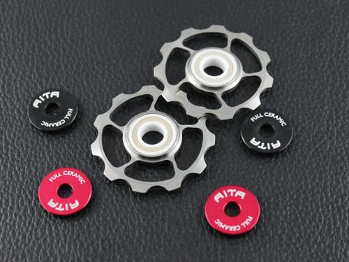 Full ceramic titanium jockey wheel