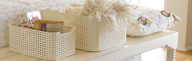 Decorative Storage Baskets & Bins