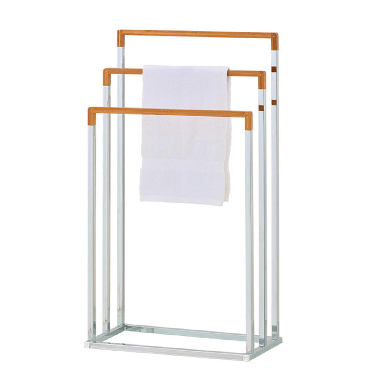 standing towel rack. Bamboo Towel Stand | Rack Bathroom Racks Standing A
