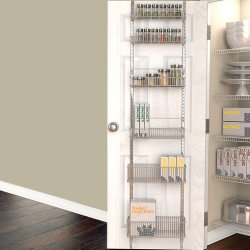 Over Door Pantry Organizer Solutions Your Organized