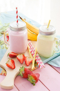 Banana Strawberry Shake E Liquid