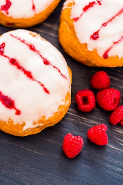 Raspberry Glazed Donut E Liquid