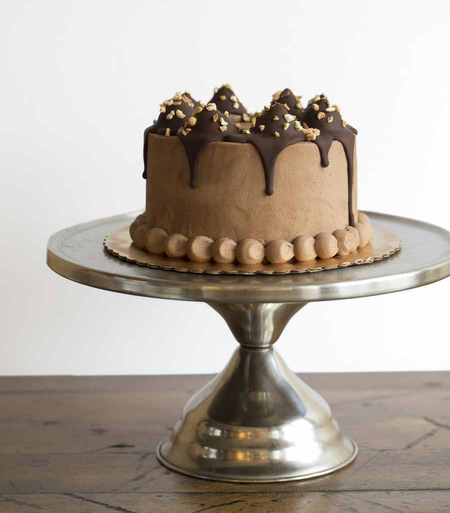 BAKED Peanut Butter Cup Cake or Cupcakes