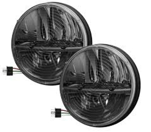 Truck Lite 27270c Jeep Jk Kit 7 Quot Round Led Headlight Pair