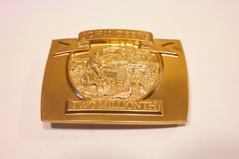 John Deere 2,000,000 Lawn and Garden Tractor Made -  Belt Buckle
