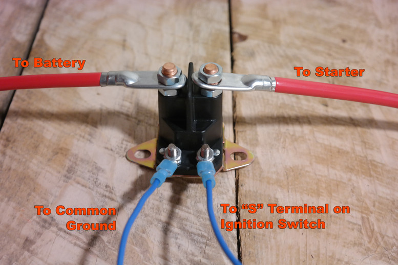 tractor wiring theory isavetractors rh isavetractors com ford tractor solenoid wiring diagram ford tractor solenoid wiring