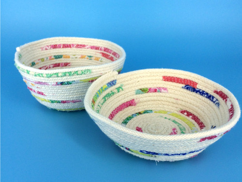 Mini Makes - Rope Bowls