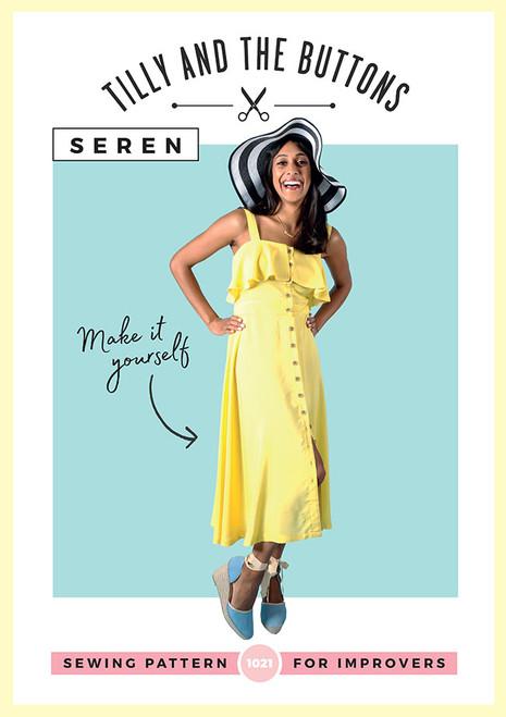 Seren Dress Pattern by Tilly & the Buttons