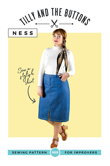 Ness Skirt Pattern by Tilly & the Buttons